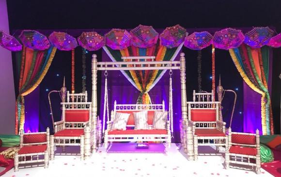 Mehndi Stages
